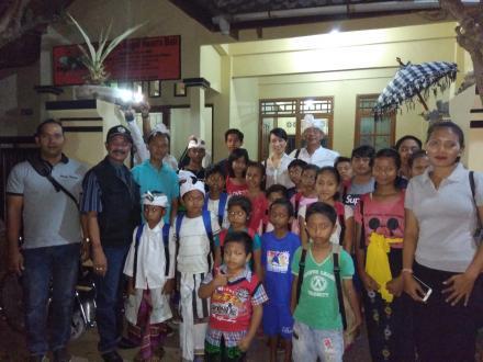 Linda Anugrah: Yayasan Angel Hearts Bali Cabang Buleleng Sebagai Ladang Berbuat Baik
