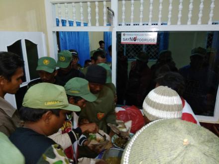 Pilgub Bali Lancar, PPS Dencarik Adakan Ramah Tamah