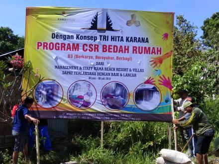 CSR Rama Beach Resort & Villas Untuk Dencarik