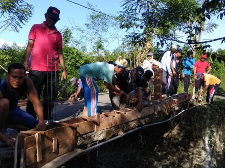 Masyarakat Bersatu, Jembatan Corot-Bajangan Kembali Aman Dilewati