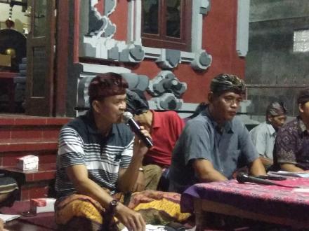 Roadshow Pemdes Dencarik bersama Panitia Pengisian BPD di Lima Dusun