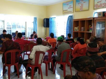 Rapat Evaluasi Kinerja LPM, Ketua LPM: Semangat Membangun Desa Sampai Akhir Masa Jabatan