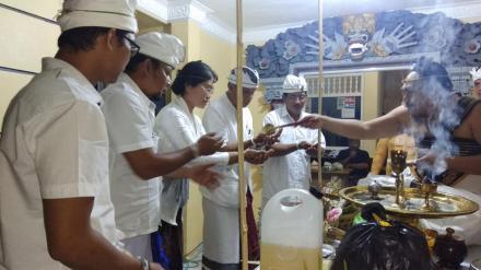 Upacara Mejaya-Jaya Mantapkan Jiwa Anggota BPD Dencarik Yang Baru Untuk Mengabdi